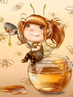 Honey Girl Mobile Wallpaper
