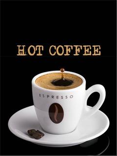 Hot Coffee Mobile Wallpaper