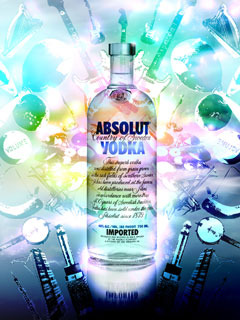 Absolut Vodka Mobile Wallpaper
