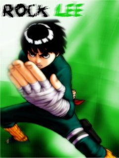 Rock Lee Mobile Wallpaper