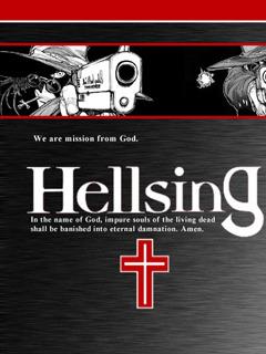 White Hellsing Mobile Wallpaper