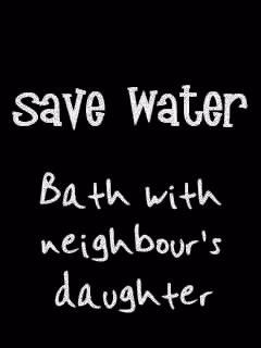 Save Water Mobile Wallpaper