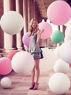 Cute Balloons Mobile Wallpaper