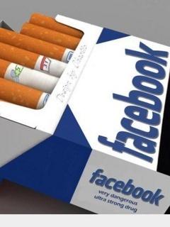 Facebook Cigarettte Mobile Wallpaper