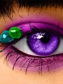 Colorful Eye Mobile Wallpaper