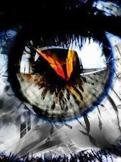 Eye Butterfly Mobile Wallpaper