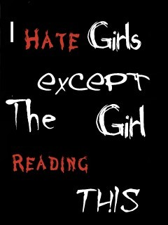 Hate Girls Mobile Wallpaper
