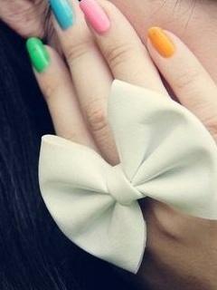 Colors Nails Mobile Wallpaper