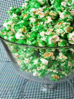 Green Candy Popcorn Mobile Wallpaper