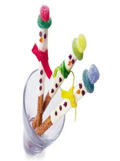 Cooking Crunchy Snowman Mobile Wallpaper