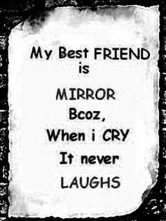 Friend Is Mirror Mobile Wallpaper