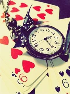 Poker Clock Mobile Wallpaper