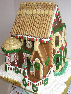 Gingerbread House Mobile Wallpaper