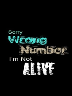 Wrong Number Mobile Wallpaper