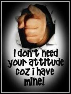 Dont Need Attitude Mobile Wallpaper