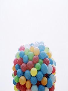 Colors Balloon Mobile Wallpaper
