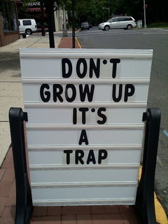 Dont Grow Up Mobile Wallpaper
