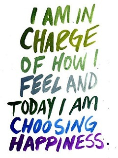 Choosing Happiness Mobile Wallpaper