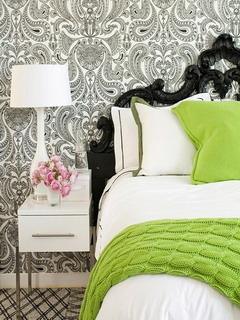 Green Bedsheet Mobile Wallpaper