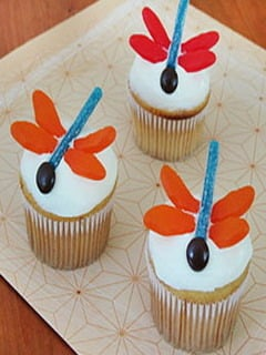 Dragonfly Cupcakes Mobile Wallpaper