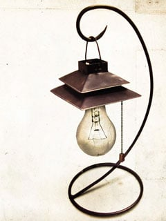Old Lamp Mobile Wallpaper