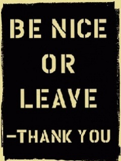 Be Nice Mobile Wallpaper