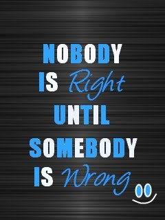 Right And Wrong Mobile Wallpaper