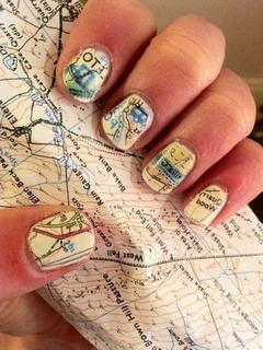 Nails Map Mobile Wallpaper