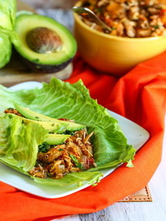Chicken Lettuce Wraps Mobile Wallpaper