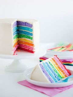 Rainbow Cake Mobile Wallpaper