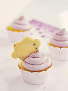 Lemon Cloud Cupcakes Mobile Wallpaper