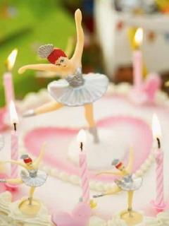 Cute Doll Cake Mobile Wallpaper