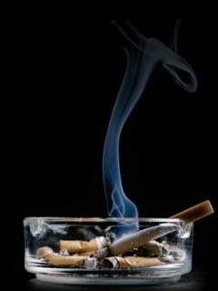 Cigerette Smoke Mobile Wallpaper