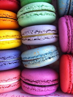 Wonderful Macarons Mobile Wallpaper