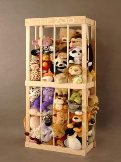 Stuffed Animal Zoo Mobile Wallpaper