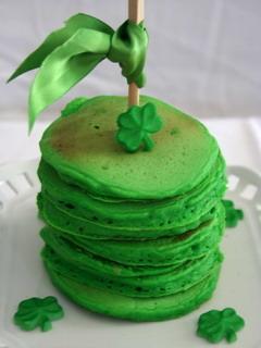 Green Pancakes Mobile Wallpaper