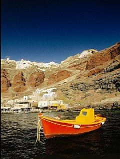 Yellow Boat Mobile Wallpaper