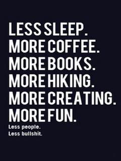 Less Sleep Mobile Wallpaper