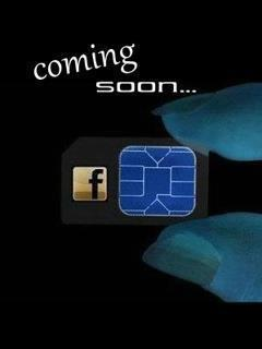 Facebook Sim Mobile Wallpaper