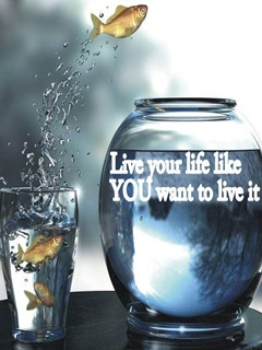 Live Your Life Mobile Wallpaper