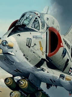 Air Fighter  Mobile Wallpaper