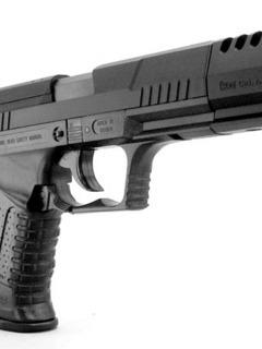 Nice Black Gun Mobile Wallpaper