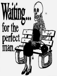 Waiting For Perfect Man Mobile Wallpaper