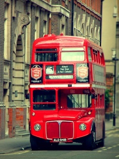 London City Bus Mobile Wallpaper
