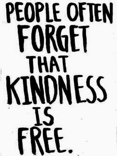 Kindness Is Free Mobile Wallpaper