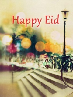 Happy Eid Wishes Mobile Wallpaper