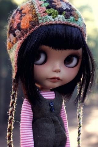 Little Beauty Doll IPhone Wallpaper Mobile Wallpaper