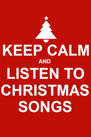 Keep Calm Christmas Mobile Mobile Wallpaper