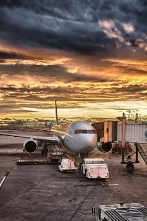 Airport Plane IPhone Wallpaper Mobile Wallpaper