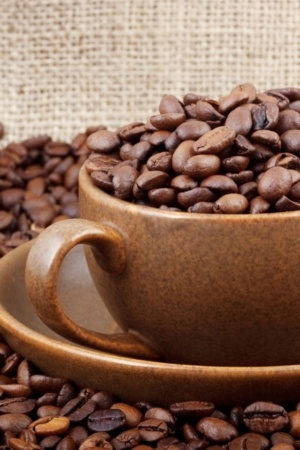 Coffee Cup Beauty Android Wallpaper Mobile Wallpaper